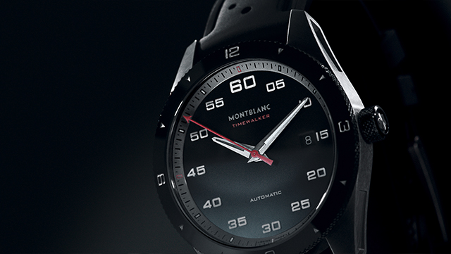 Montblanc frontal watch shot